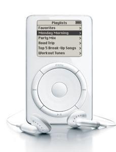 APPLE 「ipod」(初代モデル)